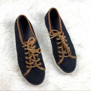 Sperry shoes lace-up wool 6.5M Seacoast Varsity
